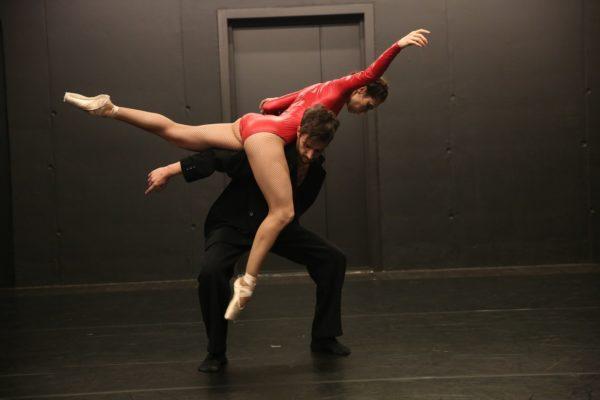 Классический танец с Олей Рыжковой
