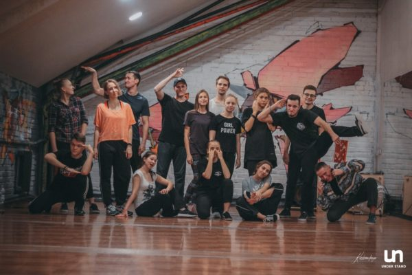 Ученики US / Рома Лютиков / Танец Бэтмена, театр, паппинг